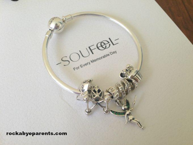 Soufeel Sterling Silver Charm Bracelet Review - rockabyeparents.com