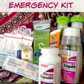 Summer Vacation Emergency Kit: Be Ready for Anything - rockabyeparents.com