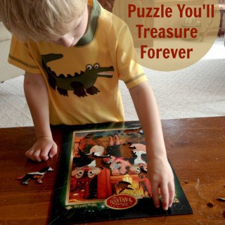 A Wooden Puzzle You'll Treasure Forever