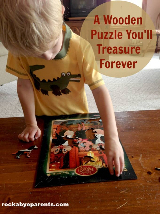 A Wooden Puzzle You'll Treasure Forever: Wentworth Wooden Puzzle Review - rockabyeparents.com