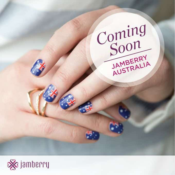 Celebrate Jamberry Heading Down Under! - rockabyeparents.com