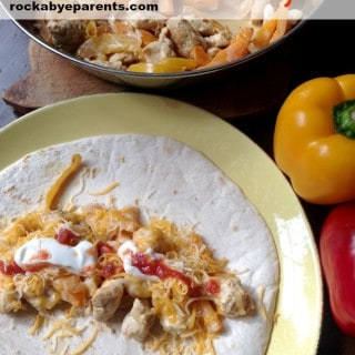 Chicken Ranch Fajitas