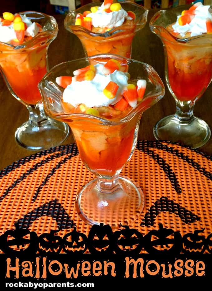 Halloween Mousse - rockabyeparents.com