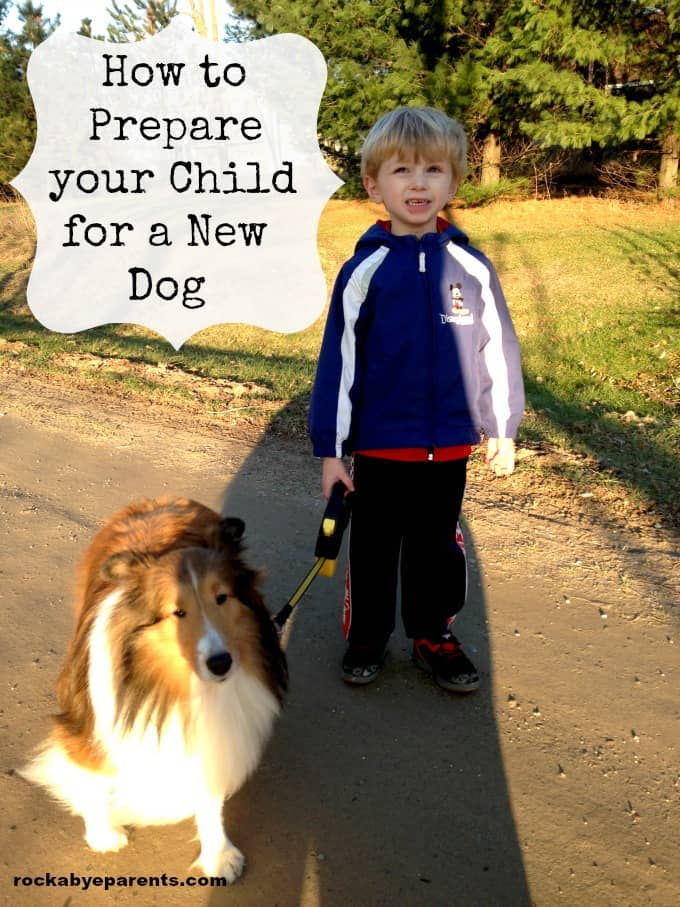 How to Prepare Your Child for a New Dog - rockabyeparents.com