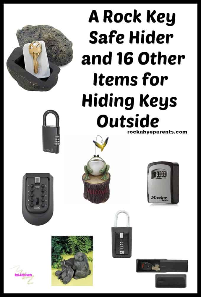 A Rock Key Safe Hider and 16 Other Items for Hiding Keys Outside