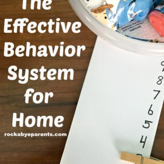 The Effective Behavior System For Home Combining Rewards And Consequences