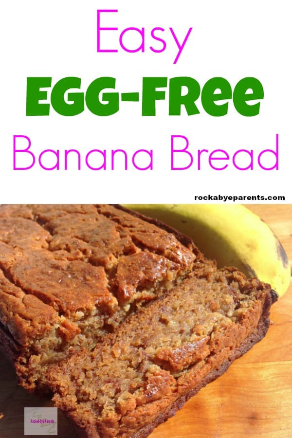 Easy Egg-Free Banana Bread