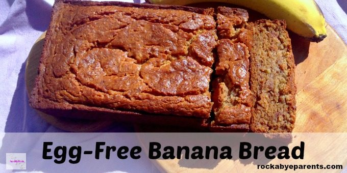 Sour Cream Banana Bread without Eggs