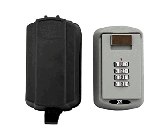 Wall Mount Safe with Waterproof Cover