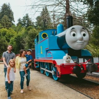Win a Family of Four ticket package to Day Out with Thomas: The Friendship Tour 2017 at Greenfield Village in Dearborn, MI.