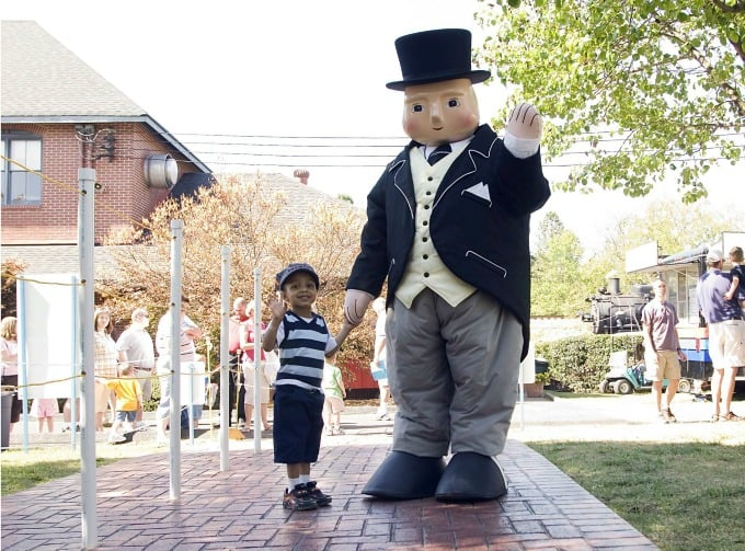 Sir Topham Hatt at Day Out with Thomas