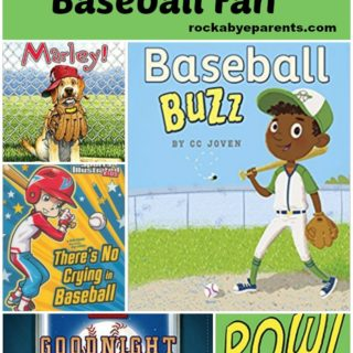 20 Books to Read with Your Little Baseball Fan