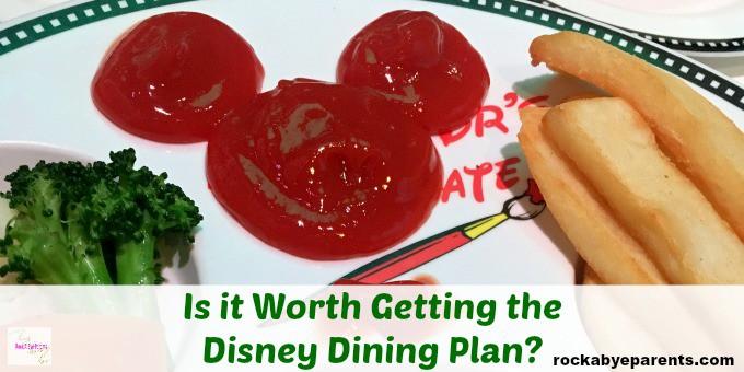 Disney Dining Plan Information
