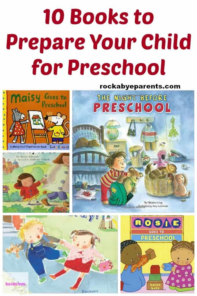 10 Books to Prepare Your Child for Preschool
