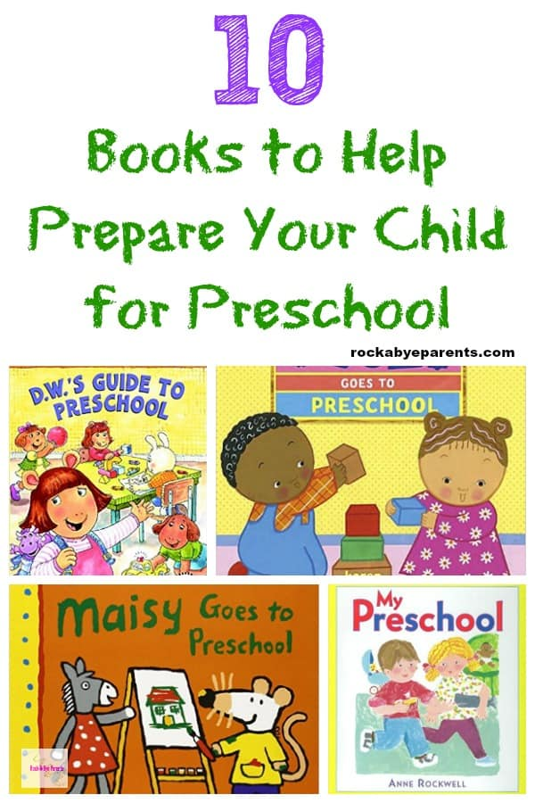 10 Books to Help Prepare Your Child for Preschool