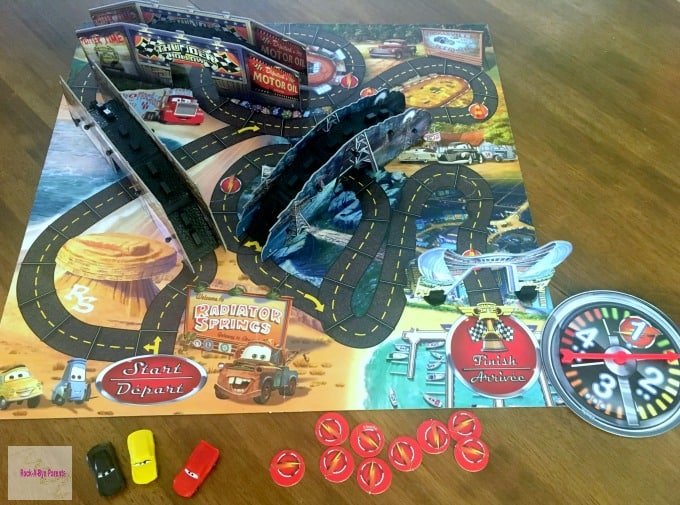 Cars 3: Risky Raceway Game