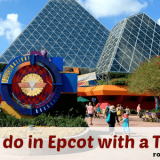 Epcot for Toddlers