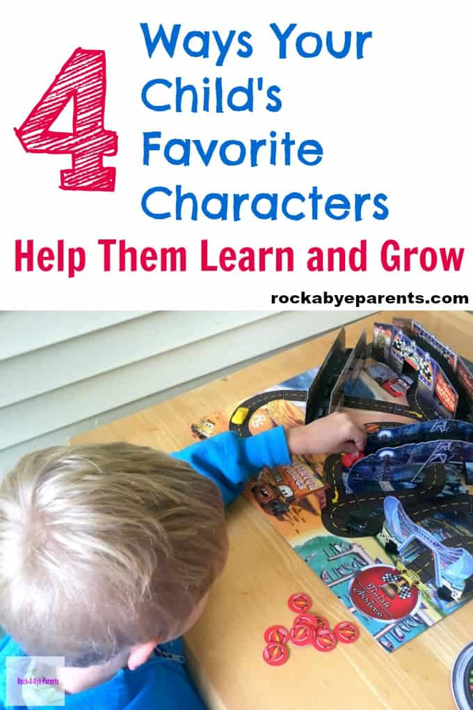 4 Ways Your Child's Favorite Characters Help Them Learn and Grow