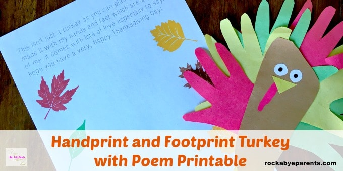 Handprint Turkey Kid Craft