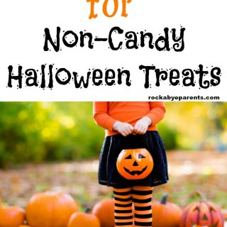Over 40 Ideas for Non-Candy Halloween Treats