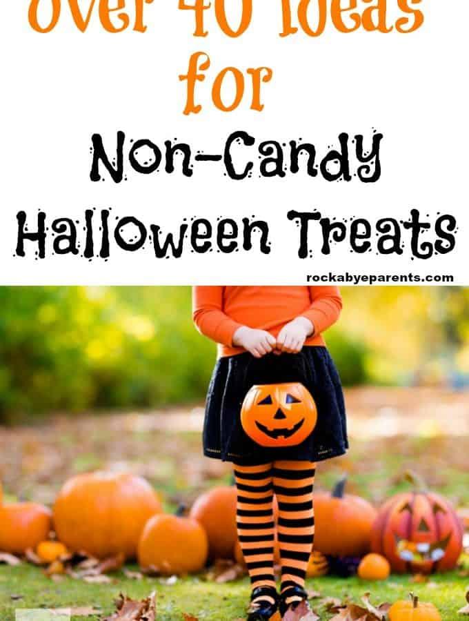 Over 40 Ideas for Non-Candy Halloween Treats