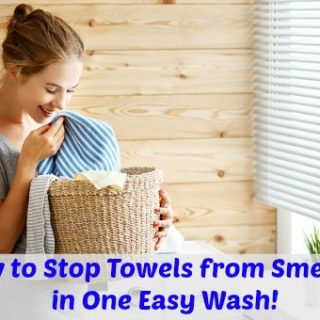 How to Make Towels Smell Fresh Again