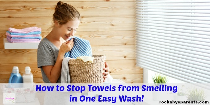 How to stop towels from smelling like mildew in one easy wash - How to keep a bathroom smelling fresh ...