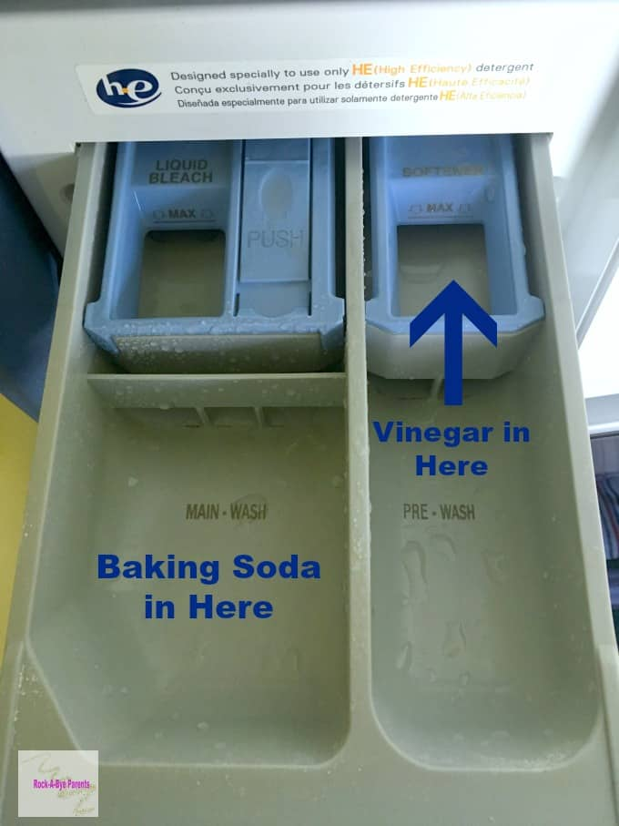 How to Safely Wash with Baking Soda and Vinegar Together