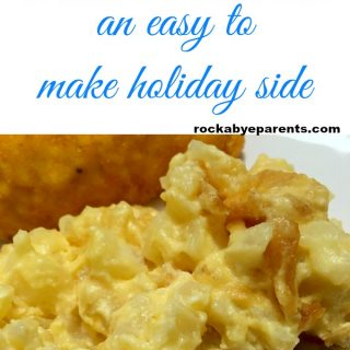 Slow Cooker Cheesy Potatoes – An Easy To Make Holiday Side