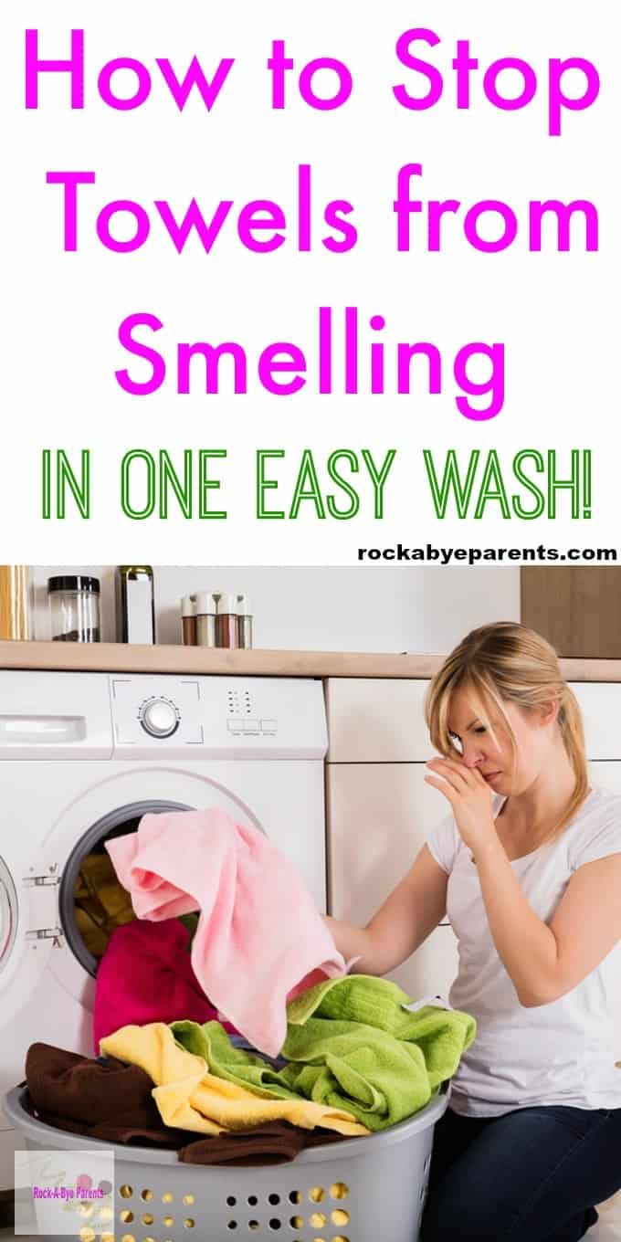 How to Stop Towels from Smelling in One Easy Wash!
