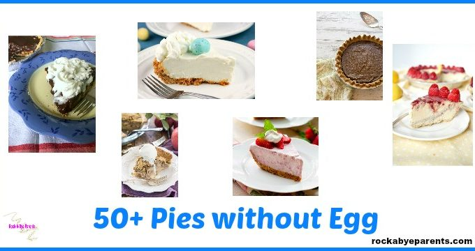 50+ Eggless Pies
