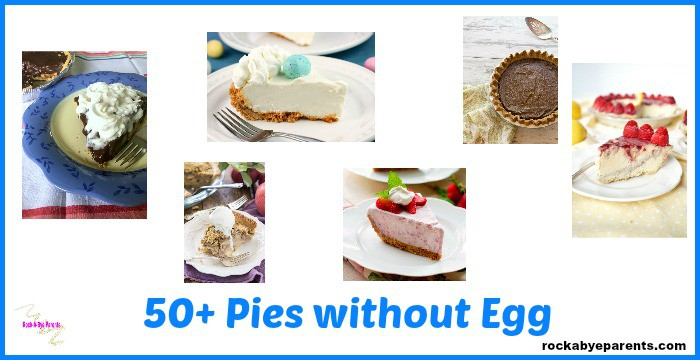 50+ Eggless Pies