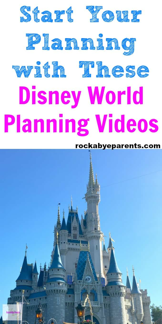 Disney World Planning Videos