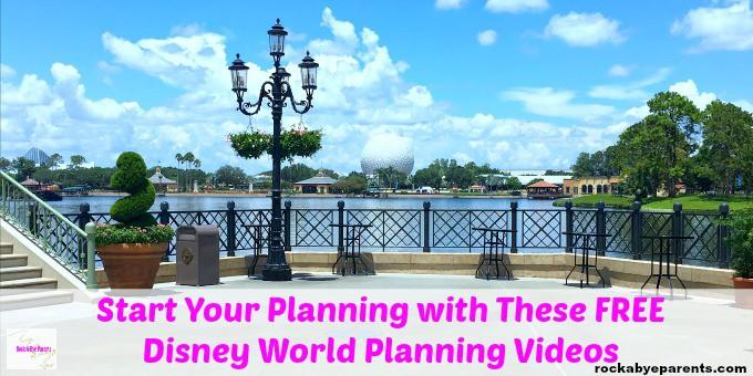 Free Disney Planning Videos