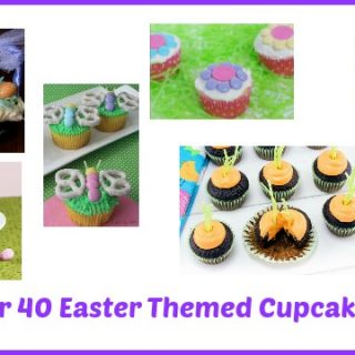 Over 40 Easter Cupcake Decorating Ideas