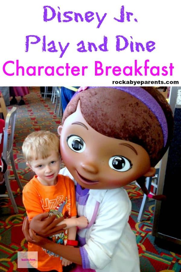 Doc McStuffins at Disney Junior Character Breakfast