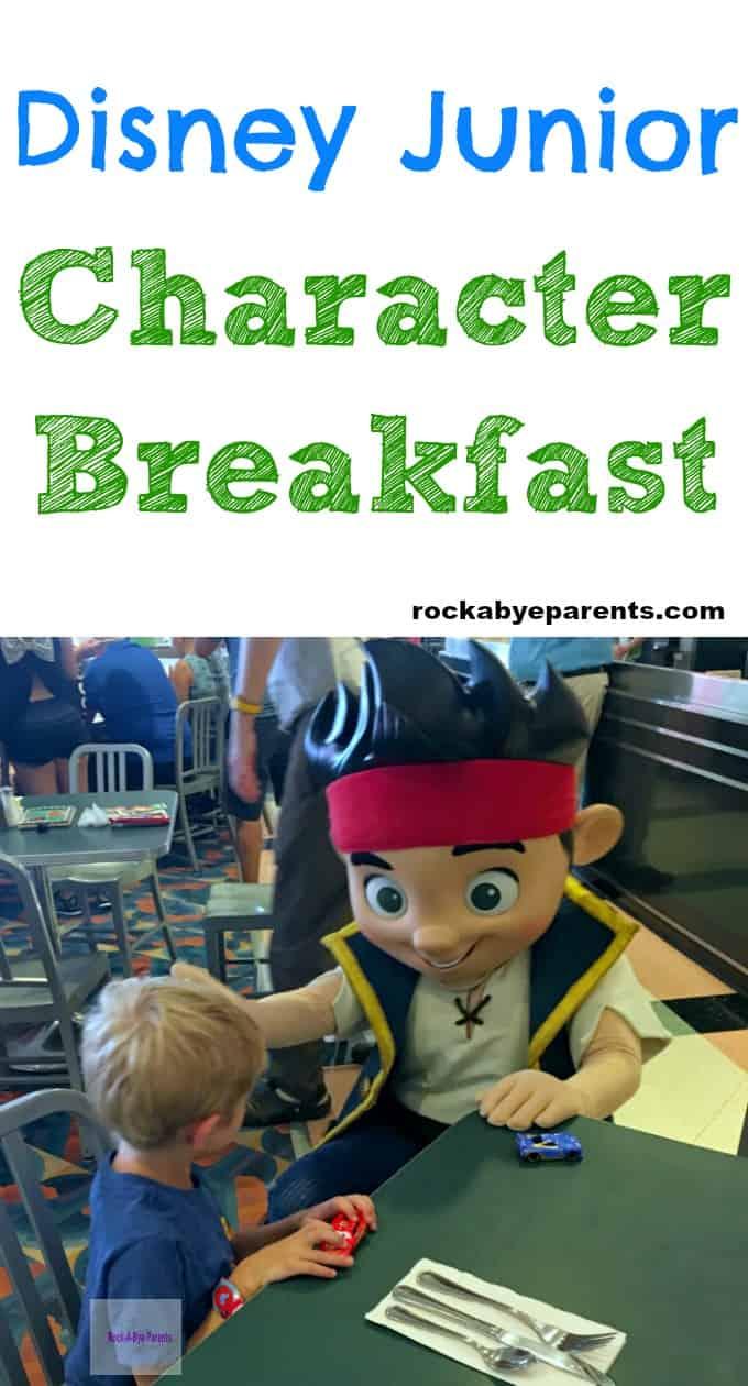 Disney Junior Character Breakfast