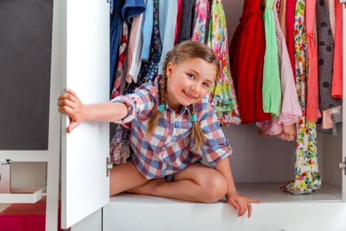 Kids Room Closet Storage Ideas
