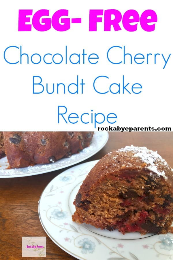 Egg-Free Chocolate Cherry Bundt Cake