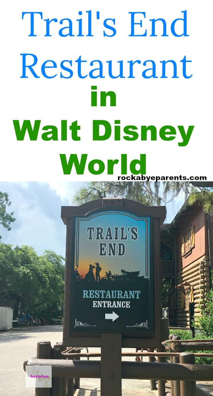 Trail's End Restaurant in Walt Disney World