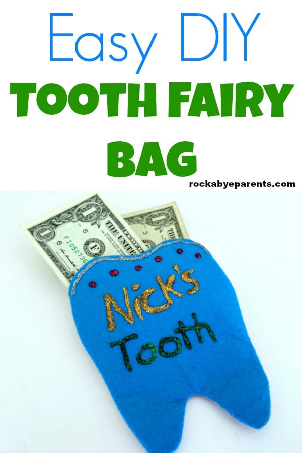 Easy DIY Tooth Fairy Bag
