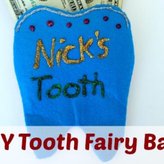 Easy DIY Tooth Fairy Bag