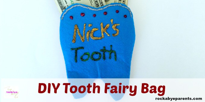 DIY Tooth Fairy Pouch