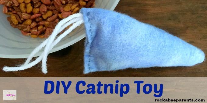Easy Catnip Toy DIY
