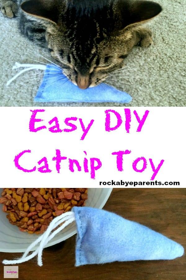Easy DIY Catnip Toy