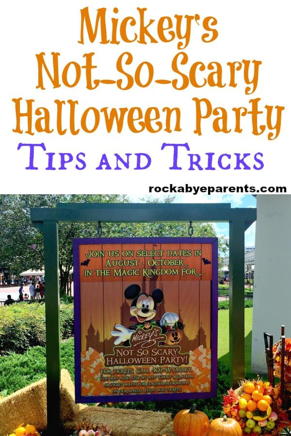 Mickey's Not-So-Scary Halloween Party Tips and Tricks