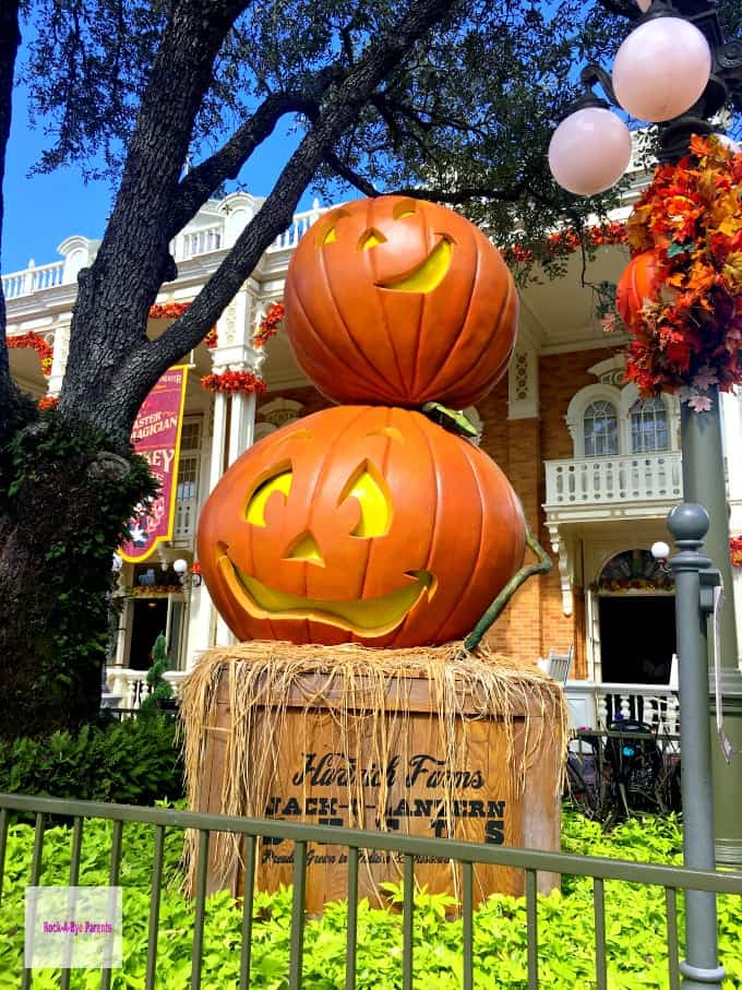 Walt Disney World Halloween Decorations