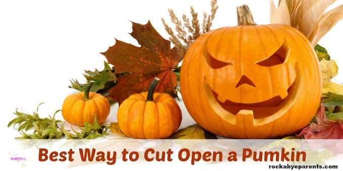 Best Way to Cut Open a Pumpkin