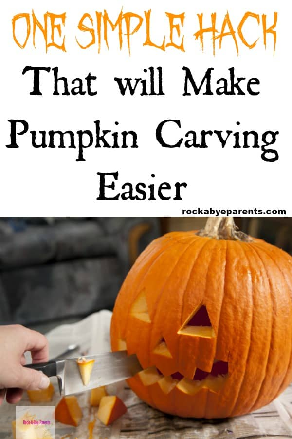One Simple Hack that will Make Pumpkin Carving Easier