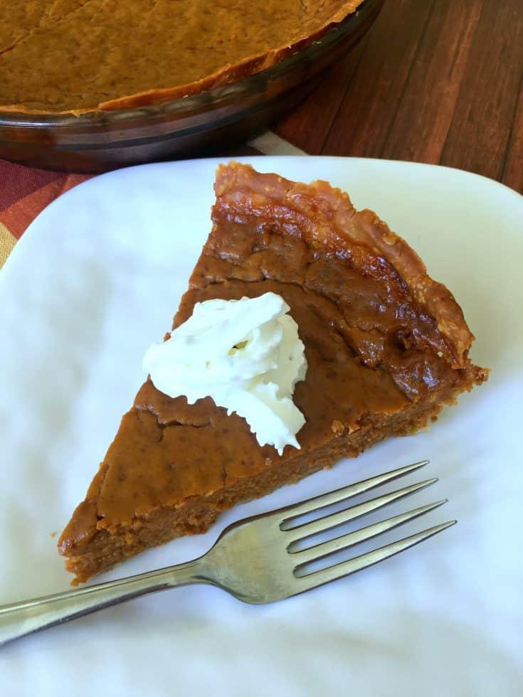 Pumpkin Pie without Eggs